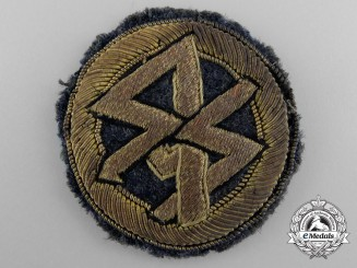 A Scarce Traditional DLV Badge for SA/SS Flying Groups
