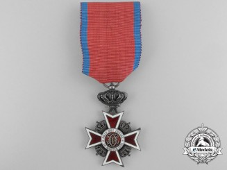 An Order of the Crown of Romania, Knight, Type II (1932-1947)