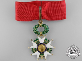 A French Order of the Legion of Honour; Commander
