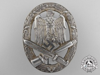 A General Assault Badge in Tombac by K. Wurster