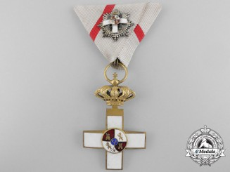A Spanish Order of Military Merit with Miniature Grand Cross 1889-1931