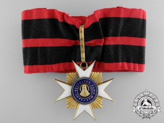 An Order of St. Sylvester in Gold; Commander's Cross c.1920