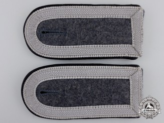A Pair of Luftwaffe Shoulder Straps; Air Ministry/Construction Unit