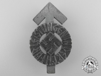 A Silver Grade HJ Proficiency Badge; RZM Marked