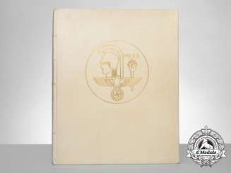 Alfred Rosenberg's Personal Copy of the House of German Art Dedication Speech