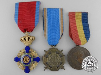 Three Romanian Awards & Decorations