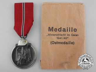 A Mint East Medal with Packet by Carl Wild