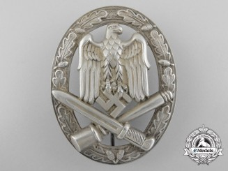 An Early General Assault Badge inTombac