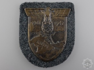 A Army Issued Krim Campaign Shield