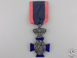 A Bavarian Royal Merit Order of St. Michael with Crown