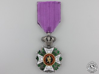 A Belgian Leopold Order; Knight's Badge