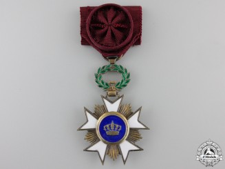 A Belgian Order of the Crown; Knight Officer