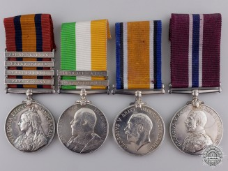 A Boer War & WWI Group of Four to the Physical Fitness Staff