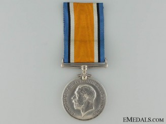 A British War Medal to the Canadian Field Artillery CEF