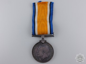 A British War Medal to the Canadian Army Service Corps