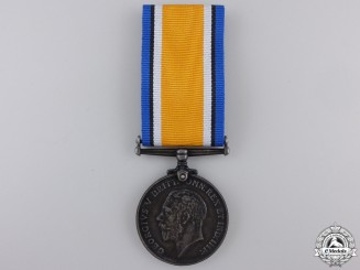 A British War Medal to the Royal Fusiliers
