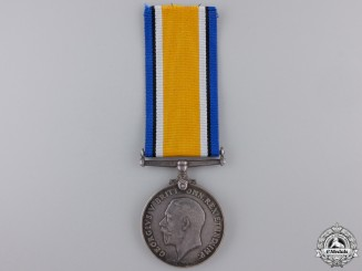 A British War Medal to Second Lieutenant Cliff