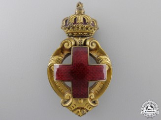 A Bulgarian Honour Badge of the Red Cross Society