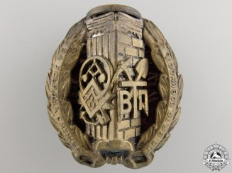 A Bulgarian Labour Corps Officer's Badge