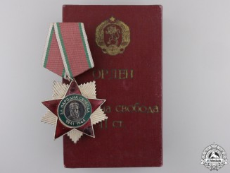 A Bulgarian Order of People's Liberty; 2nd Class 1941-1944