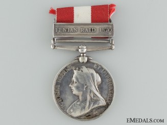 A Canada General Service Medal to the Ottawa Garrison Artillery