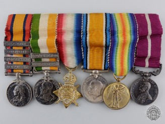 A Canada Reverse Long Service & Good Conduct Medal Miniature Group