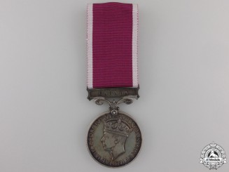 A Canadian Army Long Service and Good Conduct Medal