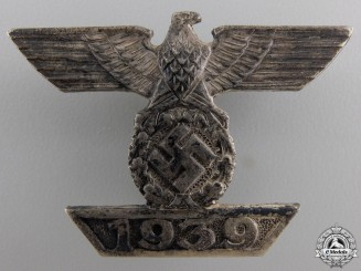 A Clasp to Iron Cross First Class by BH Mayer