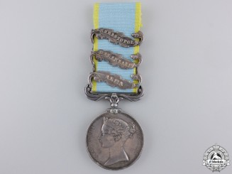 A Crimea Medal to the Thin Red Line; 93rd Highlanders