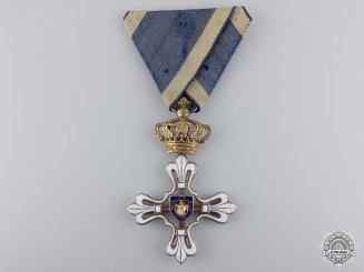A Duchy of Parma Order of St.Louis of Civil Merit; Knight
