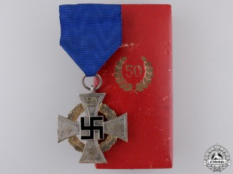 A Faithful Service Decoration; Fifty Year with Case