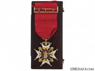 A Fine & Early Cased Order of St.Louis