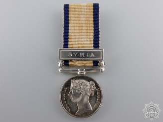 A Fine Miniature Naval General Service Medal for Syria