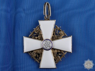 A Finnish Order of the White Rose; Grand Cross by Tillander