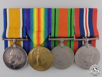 A First & Second War Group to the Royal Artillery
