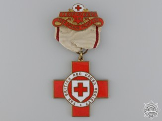 A First War British Red Cross Medal to Annie Bracegirdle