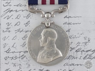 A First War Canadian Military Medal to the Manitoba Regiment