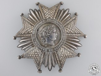 A First War French Legion D'Honneur; Grand Cross Star