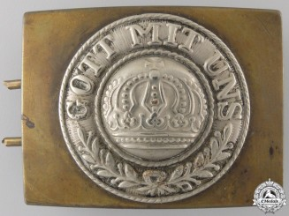 A First War German Imperial EM/NCOS Belt Buckle