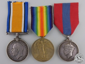 A First War Group to the King's Royal Rifle Corps