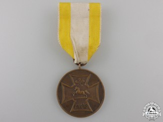 A First War Commemorative Medal of the Hanover Military