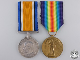 A First War Medal Pair to the Royal Air Force