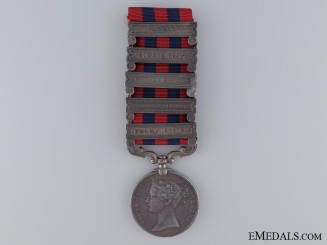 A Five Bar Indian General Service Medal to the Sappers & Miners