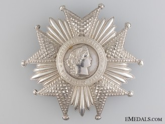 A French Legion D'Honneur; Grand Cross Star