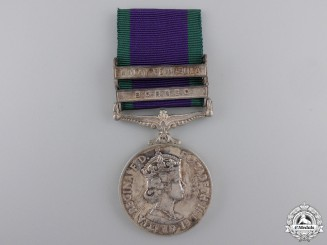 A General Service Medal 1962-2007 to the Royal Marines