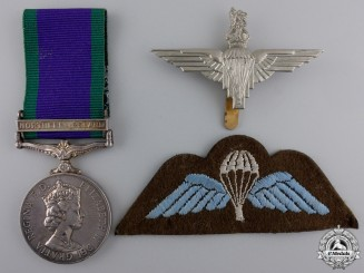 A General Service Medal 1962-2007 to the Parachute Regiment