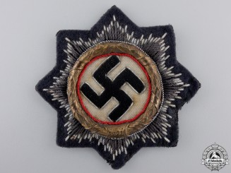 A German Cross in Gold; Luftwaffe Issue