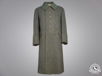 A German Imperial Army Trench Coat 1917