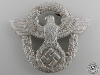 A German Police Cap Badge by LWH