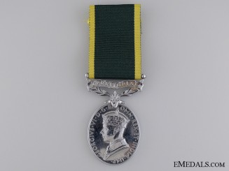 A GVI Efficiency Medal to the Royal Signal Corps